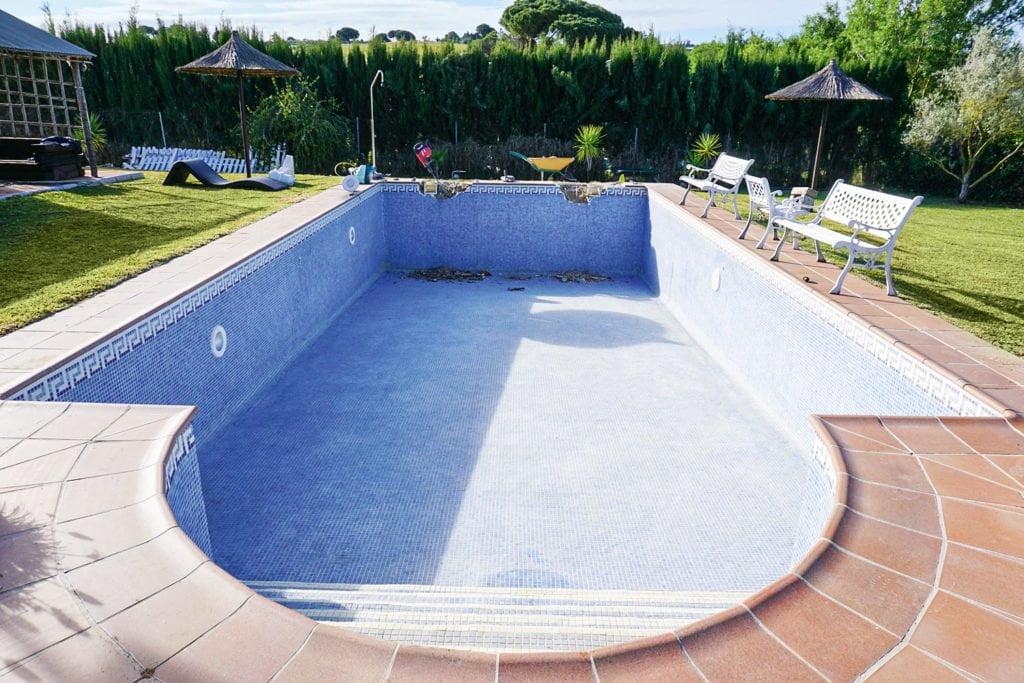 Poolsanierung in Spanien